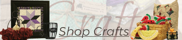 buy handmade crafts from lancaster amish