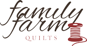 Family Farm Quilts of Shady Maple Retina Logo