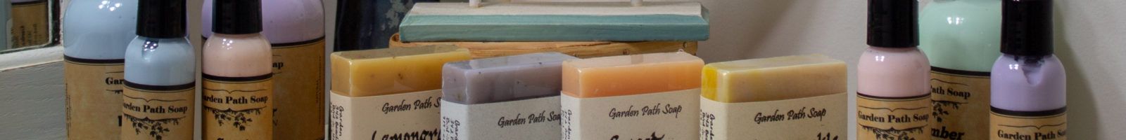 natural handmade soaps and lotions garden path