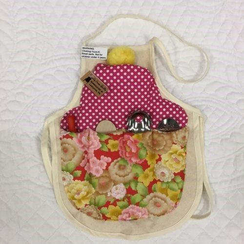 hand sewn kids apron