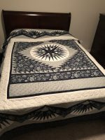 Log Cabin Quilt- King 7
